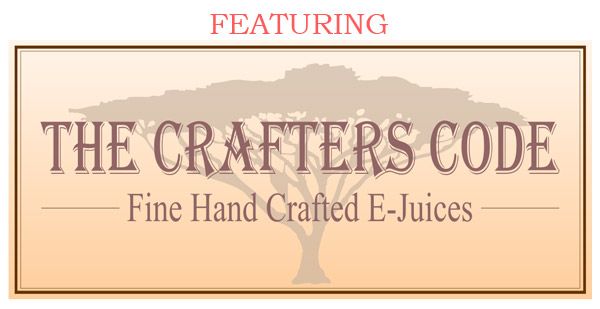 E-Cig Inn proudly offers a quality crafted e-juice. The Crafters Code, it's something special!