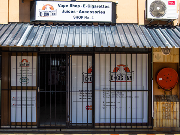 Welcome to E-Cig Inn, the coolest vape shop in Amanzimtoti (Amanzimtexas)